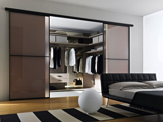 Doc Mobili Walk In Closet With Glass Doors . Contemporary ...