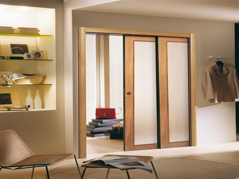 Interior Glass Pocket Doors 800 x 600